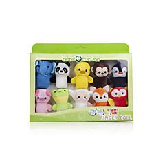 장난감을 채웠다 인형 핑거 퍼펫 장난감 동물 아동 아동용 1 조각