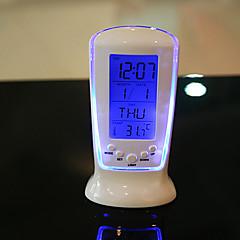 billige Veggklokker-Alarm Ure,Fritid Moderne Moderne Kontor / Bedrift Plastikker Innendørs / Utendørs