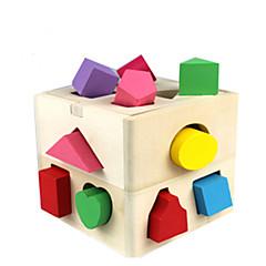 Stavební bloky Vzdělávací hračka Hračky Pieces Děti Dětské Dárek