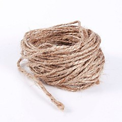 Diameter 1.5mm Length 10m Jute Burlap Rope Beter Gifts® Party Gifts Packaging Materials