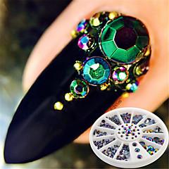 cheap Nail Care & Polish-1 Rhinestones Glitters Fashion Neon & Bright High Quality Daily