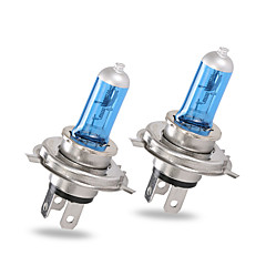 זול -Gmy ® הלוגן מכונית אור אוטומטי נורה h4 כחול סדרה 12v 60 / 55w פנס 2pcs