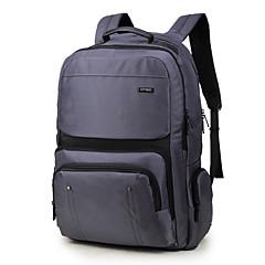 """hesapli Laptop Çantaları-Naylon İş Tek Renk Sırt Çantaları 17 """"Dizüstü Bilgisayar"""