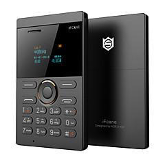 Fcane e1 mini telefon ultra slank kort telefon ledet skjerm qwerty gsm kort telefon