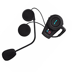 Freedconn 1pc / set 500m waterdichte motorhelm intercom headset bluetooth interfoon sport fdc-01vb helm intercom headsets