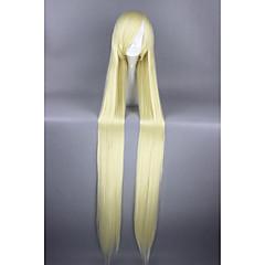 billige Kostymeparykk-Syntetiske parykker / Kostymeparykker Rett Syntetisk hår Blond Parykk Dame Veldig lang Cosplay-parykk / Halloween parykk / Karneval Parykk