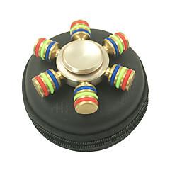 Fidget spinners hand Spinner Hračky Šest Spinner Kov Klasické Pieces Chlapecké Dívčí Dárek