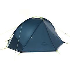 halpa -Naturehike 2 henkilöä Teltta Kaksinkertainen teltta Yksi huone Retkeilyteltat Sateen kestävä varten Retkeily Matkailu CM