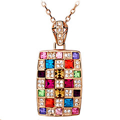 voordelige -Heren Dames Geometrische vorm Gepersonaliseerde Bloemen Religieuze sieraden Meetkundig Uniek ontwerp Hangende stijl Klassiek Vintage