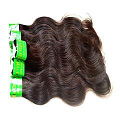 billige Remy fletninger af menneskehår-Menneskehår Remy fletninger af menneskehår Krop Bølge Indisk hår 300 g 6 måneder