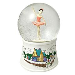 Bolas Caixa de música Brinquedos Dançando Esfera Pato Resina Peças Unisexo Aniversário Dom