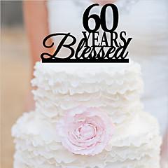 קישוטים לעוגה מותאם אישית אקרילי חתונה יום שנה מסיבה לכלה יום הולדת נושאי גן נושא קלאסי OPP