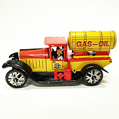 Opwindspeelgoed Speelgoedauto's tankschip Speeltjes Automatisch Retro Kinderen 1 Stuks