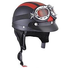 Χαμηλού Κόστους Κράνη & Μάσκες-Μισό Κράνος ABS Κράνη μοτοσικλέτας