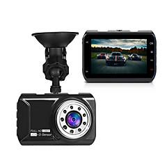 Original novatek 96223 bil dvr bil kamera dash cam 3 tommer 1080p 170 graders vidvinkel video registrer g-sensor nat vision