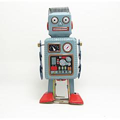 billige Originale moroleker-Robot / Trekk-opp-leker Maskin / Robot Metallisk / Jern Anime 1 pcs Deler Barne Gave