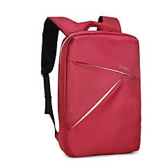 """hesapli Laptop Çantaları-Naylon İş Tek Renk Sırt Çantaları 15 """"Dizüstü Bilgisayar"""