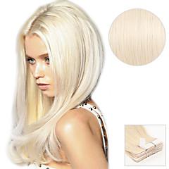 cheap Highlighted Hair-Tape In Human Hair Extensions Human Hair Straight Daily