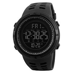 baratos -SKMEI Homens Masculino Relógio Esportivo Relógio Militar Relógio de Moda Relógio de Pulso Relogio digital Japanês Digital LED Calendário