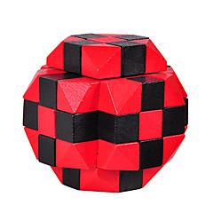 preiswerte -Holzpuzzle Knobelspiele Luban Geduldspiel Sphäre Intelligenztest Holz Unisex Geschenk