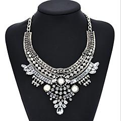 economico Collane-Per donna Diamante sintetico Perle finte Oro rosa Perle finte Diamanti d'imitazione Girocolli - Personalizzato Circolare Classico