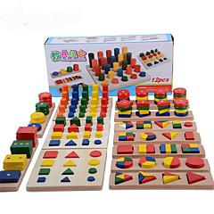 hesapli Matematik Oyuncakları-Montessori Eğitim Araçları Yerleştirme Bulmacaları Matematik Oyuncakları Eğitim Havalı Genç Kız Genç Erkek Hediye