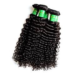 billige Remy fletninger af menneskehår-Remy hår Remy fletninger af menneskehår Krøllet Indisk hår 500 g