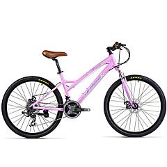 אופני הרים רכיבת אופניים 21 מהיר 700CC/26 אינץ' דיסק בלימה כפול מזלג שיכוך שלדת סגסוגת אלומיניום שלדת זנב קשה נגד החלקה סגסוגת אלומיניום
