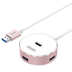 UNITEK Y-3197BRG Rose Gold USB3.0 Super-Speed 4-Port HUB with 120CM