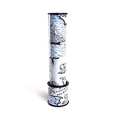 hesapli kaleydoskop-Kaleydoskop Oyuncaklar Basit Dairesel ABS Kağıt Parçalar Genç Kız Genç Erkek Hediye