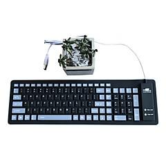 防水フォールトミュートシリカゲル103キーotg usbキーボード