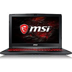 Msi pelaamista kannettava tietokone 15,6 tuumaa intel i5-7300hq 8gb ddr4 1tb hdd windows10 gtx1050ti 4gb gl62m 7rex-1642cn taustavalaistu näppäimistö