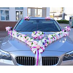 Luxury Floral Wedding Car Decoration