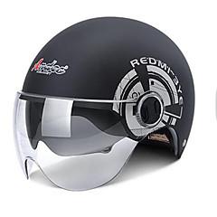 ハーフヘルメット フォームフィット コンパクト 通気性 ハーフシェル 最高品質 スポーツ オートバイのヘルメット
