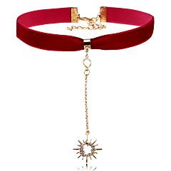 Dámské Obojkové náhrdelníky imitace drahokamu Slunce Slitina Jedinečný design Šperky Pro Večírek Na den Açık Hava Kıyafetleri