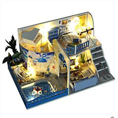 Sada na domácí tvoření Osvětlení hraček Hračky Udělej si sám LED osvětlení Dům Vila Plast Pieces Nespecifikováno Vánoce Narozeniny
