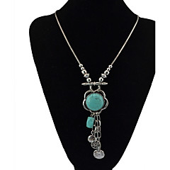 Women's Pendant Necklaces Chain Necklaces Bohemian Fashion Tassel Alloy Natural Friendship  Party Daily Movie Jewelry