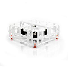 billige Fjernstyrte quadcoptere og multirotorer-RC Drone M77 4 Kanal 2.4G - Fjernstyrt quadkopter LED-belysning Fjernstyrt Quadkopter USB-kabel Blader