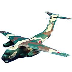 tanie Gry i puzzle-Zabawki 3D Papierowy model Rzemiosło z papieru Model Bina Kitleri Samolot Myśliwiec Symulacja DIY Klasyczny Dla obu płci Prezent