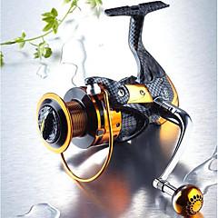 billiga Fiskerullar-Fiskerulle Bearing Snurrande hjul 5.1:1 13 Kullager utbytbar Sjöfiske Färskvatten Fiske Drag-fiske Generellt fiske Trolling & Båt Fiske-