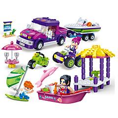 אבני בניין צעצוע חוף ים וחול צעצועים חוף צעצועים ריבוע ספינה חתיכות יוניסקס מתנות