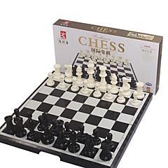 tanie Gra w szachy-Gry planszowe Szachy Zabawki Składany/a Magnetyczne Duży rozmiar Kwadrat Tworzywa sztuczne Sztuk Dla obu płci Boże Narodzenie Prezent