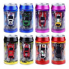 WLTOYS 2015-1A 1:63 Coke Can Mini Radio Remote Control Electric RC Car Toys Random Color