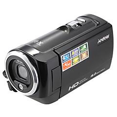 ieftine Mini Camere Video-andoer® ecran lcd hd 16mp 16x zoom digital 720p 30fps anti-shake de înregistrare video digitală camera video dv camera DVR