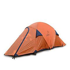 billige Telt og ly-2 personer Telt camping Tent Brette Telt Hold Varm Vanntett til Camping & Fjellvandring Andre Material CM
