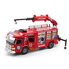 Carros de brinquedo Brinquedos Veiculo de Construção Caminhão de Bombeiro Brinquedos Caminhão Plásticos Liga de Metal Metal Peças Unisexo