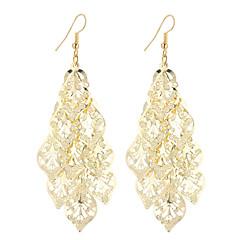 Damskie Kolczyki wiszące Biżuteria Wiszący Bohemia Style minimalistyczny styl Elegancki biżuteria kostiumowa Modny Postarzane Posrebrzany