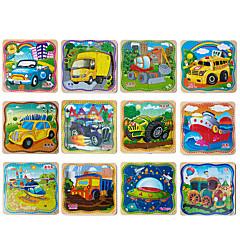 preiswerte -Holzpuzzle Steckpuzzles Holzmodelle Bildungsspielsachen Quadratisch Hölzern Holz Kinder Geschenk