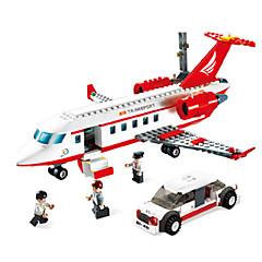 אבני בניין מכוניות צעצוע צעצועים ריבוע כלי טיס חתיכות יוניסקס מתנות