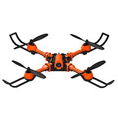 billige Fjernstyrte quadcoptere og multirotorer-RC Drone YiZHAN i5hw 4 Kanal 6 Akse 2.4G Med HD-kamera 0.3MP 0.3 Fjernstyrt quadkopter LED Lys / Sveve USB-kabel / Skrutrekker / Blader